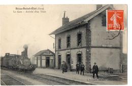 BEZU-SAINT-ELOI  - La Gare - Arrivée D'un Train - Otros Municipios