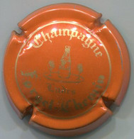 CAPSULE-CHAMPAGNE FORGET-CHEMIN N°06 Orange & Or - Altri