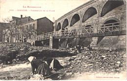 FR66 CERBERE - Labouche 530 - Passerelle De La Plage - Lavandières - Animée - Belle - Cerbere