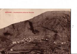 CERVIONE. -  Vue Générale Prise De Prunete.  ETAT CORRECT.   A Circulé. Voir SCANS Recto-verso - Other Municipalities