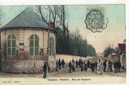CPA  VAUJOURS  Pavillon, Rue De Vaujours - Unclassified