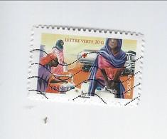 Au Profit De La Croix-Rouge La Croix-Rouge Française En Action Adhésif N° 1134 Oblitéré 2015 - Luchtpost