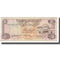 Billet, United Arab Emirates, 5 Dirhams, KM:7a, TB - United Arab Emirates