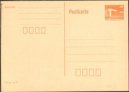 DDR Ganzsache Wertstempel Bauwerke 10 Pfg. 1986 P 86 II Ungebraucht - Postales - Nuevos