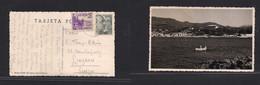 E-PROVINCIAS. 1950 (9 Sept) Paguera, Baleares, Mallorca - Suiza, Luzerna. TP Franqueo Con Auxilio Victimas Guerra De 194 - Sin Clasificación