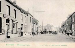 Quaregnon Monsville Place édit Léon Lété 1907 - Quaregnon