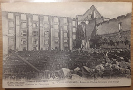 Carte Postale Chiry Ourscamp Ruines De L'usine De Filature Et De Tissage - Andere Gemeenten