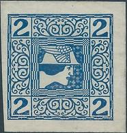AUSTRIA - L'AUTRICHE - ÖSTERREICH,1908 -1910 Newspaper Stamp,2H , Not Used - Journaux