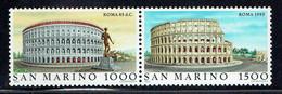 San Marino 1985, Architektur / Architecture / Arquitectura, Kolosseum Rom / Colosseum Rome, MiNr. 1329 - 1330 - Sin Clasificación