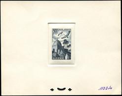 ALGERIE PA 9 : Marabout, 50f., épreuve D'atelier En Bleu-noir (couleur 1122), TB - Poste Aérienne