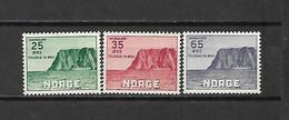 NORVEGIA - 1957 - N. 373/75* (CATALOGO UNIFICATO) - Ongebruikt
