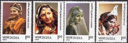 India 1980, Bride Jewelry, MNH Stamps Set - Neufs