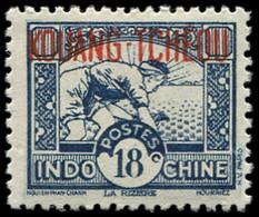 ** KOUANG-TCHEOU 148A : 18c. Bleu-violet, TB - Unclassified
