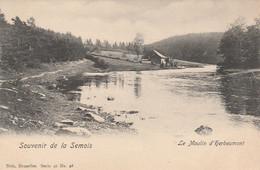 Souvenir De La Semois , Le Moulin D' Herbeumont  ,( Nels  Série 40 ,n° 28  ) VOIR VARIANTE Même N° 28 - Herbeumont