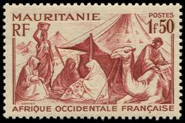 ** MAURITANIE 112A : 1f50 Brun-rouge, TB - Non Classés