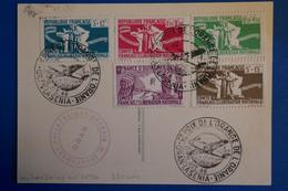 K11 ALGERIE BELLE CARTE RARE 1949 ORAN GRAND PRIX DE L ORANGE + DALLAY+ AFFRANCH. PLAISANT - Poste Aérienne