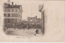 RUELLE Fonderie De Canons  (bien Animée Plus Montreur D'ours ) - Other Municipalities