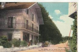 CPA  LE  JOTTY  Par La Vernaz , Hotel Du Mont- Ouzon - Autres Communes