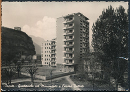 °°° 24038 - TRENTO - GRATTACIELO COL MONUMENTO A CESARE BATTISTI (TN) 1962 °°° - Trento
