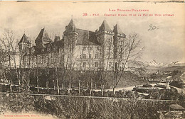 64 - Pau - Château Henri IV Et Le Pic Du Midi D'Ossau - CPA - Voir Scans Recto-Verso - Pau