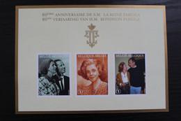 Jaar 2008: BL156 'Koningin Fabiola' - Ongetand Met Nummer - Zeer Mooi! - Imperforates