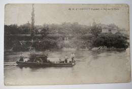 C. P. A. : 40 LABATUT : Bac Sur Le Gave, Animé, En 1918 - Otros Municipios