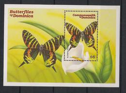 Dominica - 2000 - Bloc Feuillet BF N° Yv. 393 - Papillons / Butterflies - Neuf Luxe ** / MNH / Postfrisch - Papillons