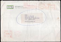 España - 1992 - Carta - Via Aerea - Franqueo Mecanico - BNP España SA - A1RR2 - 1991-00 Cartas