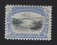 US #297 1901 Ultramarine & Black Wmk 191 Perf 12 MNH F-VF SCV $190 - Unused Stamps