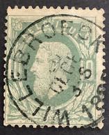 OBP 30 Gestempeld EC WILLEBROECK - 1869-1883 Leopoldo II