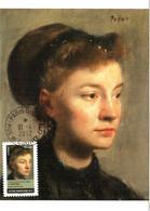 Carte Maximum YT AA679 Portrait De Jeune Femme Par Edgar DEGAS Cachet PARIS-ORSAY 10 04 2012 TBE Journée De La Femme - 2010-...