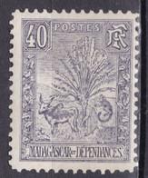 """MADAGASCAR N° 72 De 1903 Neuf """"zébu Et Arbre Du Voyageur"""" Coté 37€ - Unused Stamps"""