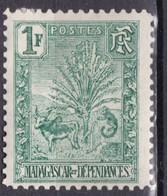 """MADAGASCAR N° 75 De 1903 Neuf """"zébu Et Arbre Du Voyageur"""" Coté 85€ - Unused Stamps"""