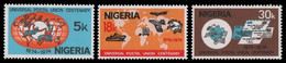 Nigeria 1974 - Mi-Nr. 304-306 ** - MNH - UPU - Nigeria (1961-...)