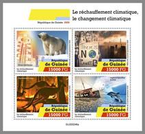 GUINEA REP. 2020 MNH Climate Change Klimawandel Changement Climatique M/S - OFFICIAL ISSUE - DHQ2107 - Protección Del Medio Ambiente Y Del Clima