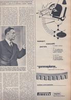 (pagine-pages)PUBBLICITA' PIRELLI  Tempo1954/38. - Other