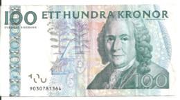 SUEDE 100 KRONOR 2006-10 VF P 65 C - Schweden