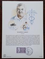 FDC Sur Document - YT N°2455 - EUGENE JAMOT - 1987 - 1980-1989