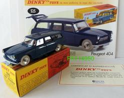 PEUGEOT 404 COMMERCIALE  BREAK - 525 DINKY ATLAS - Dinky