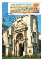 Carte Maximum Vignette LISA 1104 Obl Spé Ill Salon Philatélique De Printemps CNEP 0,57€ TBE Epernay 13 04 2012 - 2010-...