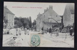 Saint- Bauld - Arrivée De Tauxigny - Otros Municipios