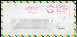 Brasil - 1989 - Lettre - Cachet Spécial - Affranchissement Mécanique - Momsen, Leonardos & CIA - A1RR2 - Cartas