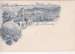Suisse BE Berne Gruss Aus Lauterbrunnen - BE Berne