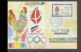 France Postcard 1992 Albertville Olympic Games - Mint (G123-61) - Inverno1992: Albertville