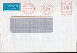 Danmark - 1984 - Lettre - Cachet Spécial - Affranchissement Mécanique - A1RR2 - Cartas