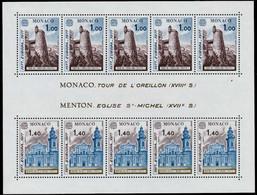 MONACO Block 11 Postfrisch S012E92 - Blocks & Sheetlets