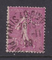 Perfin/perforé/lochung France No 202  BP Banque De Paris Et Des Pays Bas (143) - Gezähnt (Perforiert/Gezähnt)