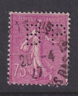 Perfin/perforé/lochung France No 202  BP Banque De Paris Et Des Pays Bas (147) - Gezähnt (Perforiert/Gezähnt)