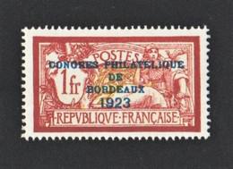 182** Exposition Philatélique De Bordeaux 1923 Sans Charnière - Faux - Nuevos