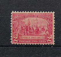 STATI UNITI D'AMERICA 1907 ESPOSIZIONE DI JAMESSTOWN UNIF. 193  MLH VF - Unused Stamps